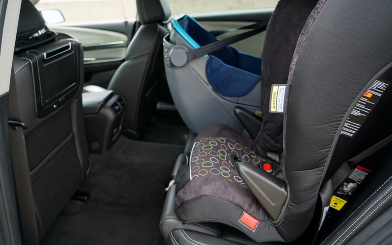 Spotlessly Clean Baby Seats - Shire Cars - Sydney Chauffer Services